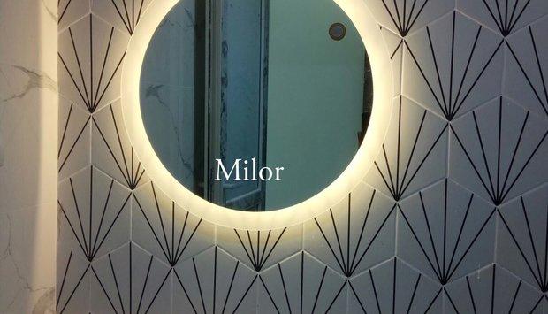Xu hướng chọn gương đèn led phòng tắm sang trọng Milor