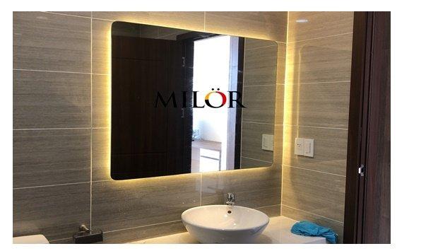 Gương Bỉ đèn led phòng Tắm Hà Nội
