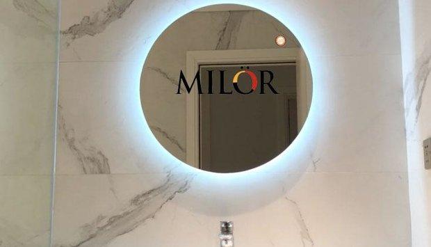 Giá gương kính bỉ tại Hà Nội cao cấp cho phòng tắm