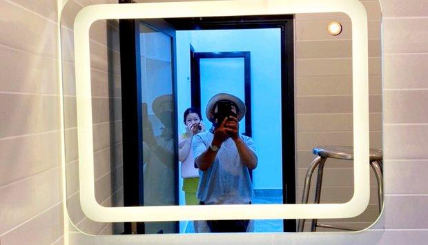 4 lưu ý bạn cần biết khi chọn mua gương phòng tắm đèn Led