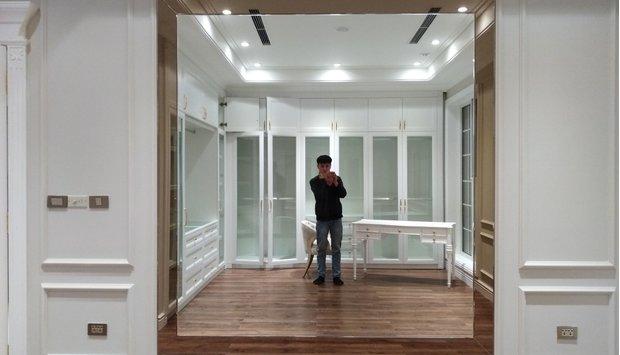 Tác dụng mở rộng không gian của gương trang trí phòng khách
