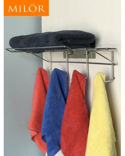Kệ vắt khăn phòng tắm inox Milor GS-5014