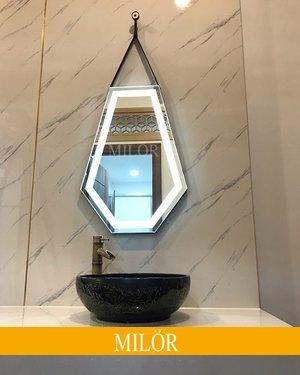 Gương phòng tắm đèn led Diamond