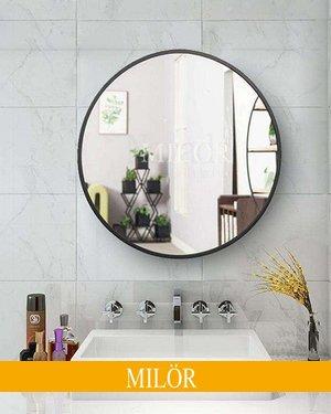 Gương tròn treo phòng tắm Optima