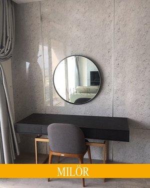 Gương tròn bàn trang điểm Optima 60cm