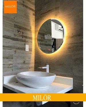 Gương phòng tắm đèn led cảm ứng 60cm