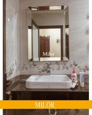 Gương thiết bị vệ sinh cao cấp milor Branco