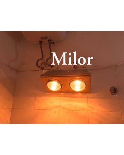 Đèn sưởi treo tường 3 bóng milor