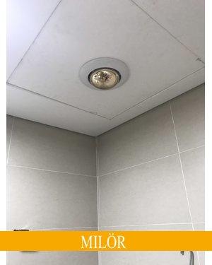 Đèn sưởi nhà tắm mùa đông milor âm trần