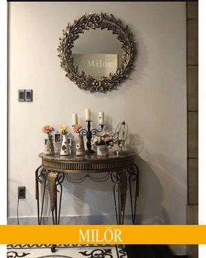 Gương bỉ trang trí phòng khách Eros