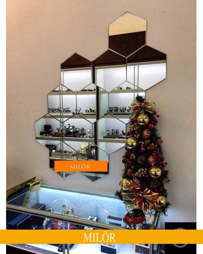 Gương ghép tường trang trí phòng cao cấp Milor Thái Bình