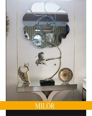 Gương trang trí phòng khách đẹp Mimosa Milor