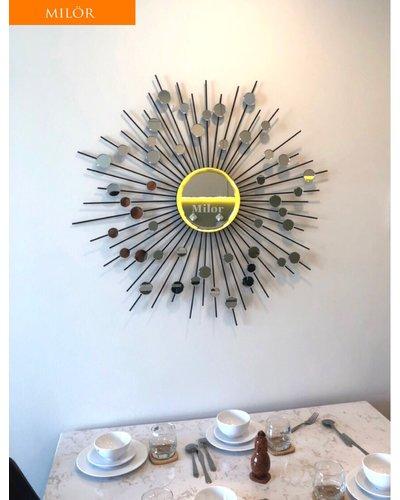 Gương Hebes trang trí phòng khách đẹp Milor