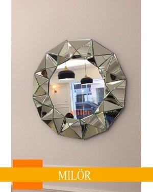 Gương phòng khách sang trọng  QUEEN BEE luxury Milor