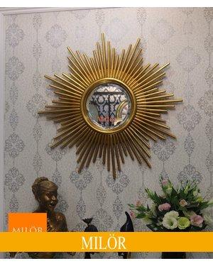 Gương Atena tân cổ điển trang trí phòng khách Thái Bình