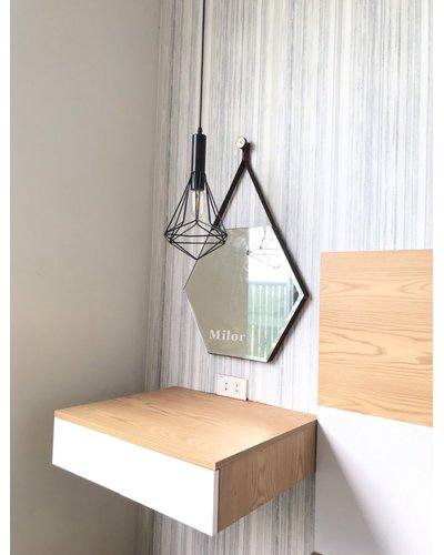 Gương trang điểm phòng ngủ Đà Nẵng Milor Lục giác