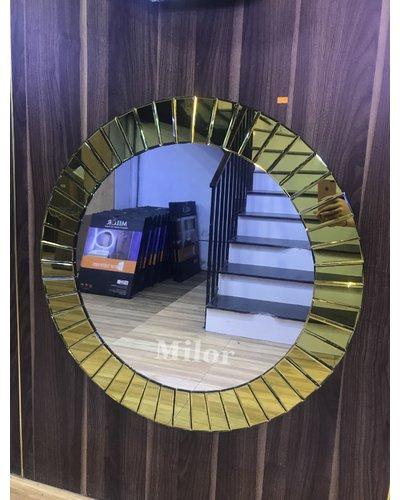 Gương treo tường phòng khách Hà Nội The Sun Gold 80cm