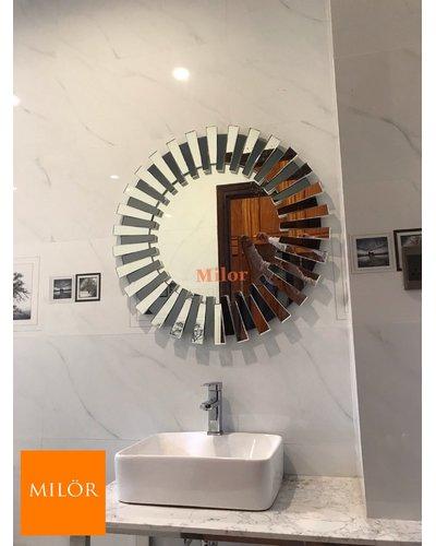 Gương cao cấp nghệ thuật treo tường phòng tắm mestasy 86cm