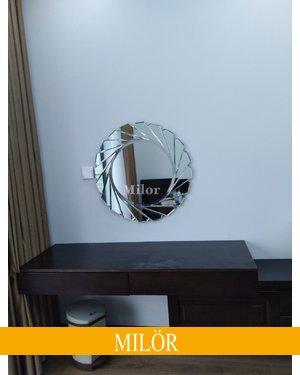 Gương trang điểm tròn Milor Diana 60cm