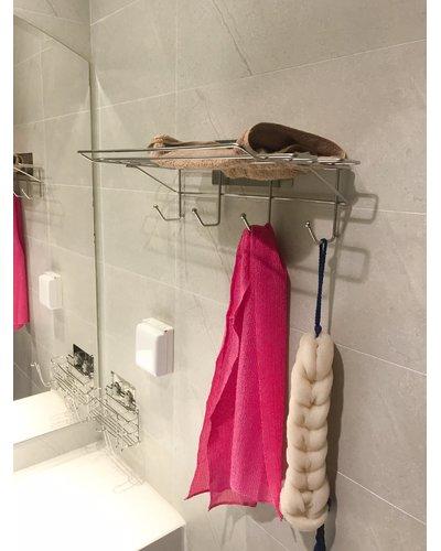 Vắt khăn phòng tắm không khoan tường GS-5014