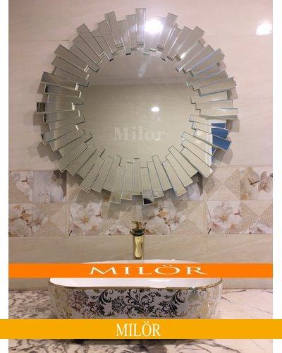 Sản xuất gương phòng tắm decor milor Lion