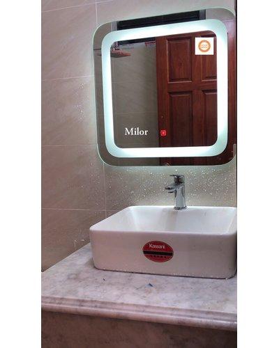 gương đèn led thiết bị vệ sinh Milor