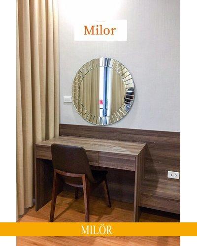 Gương bàn trang điểm nghệ thuật MIlor The Light