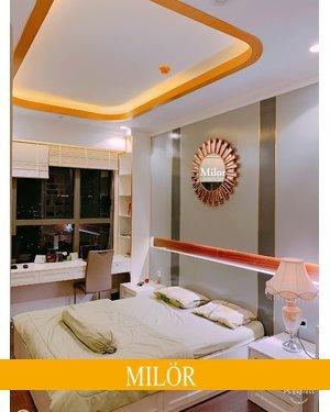 Gương phòng khách tân cổ điển Milor Athena