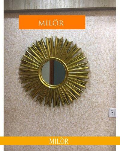 Gương trang trí decor treo tường Milor Demeter Gold