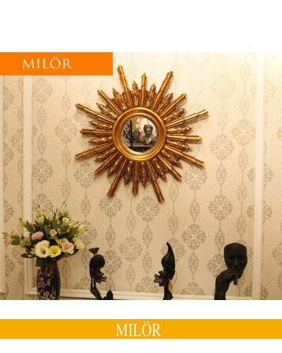 Gương trang trí decor treo tường Milor Hedes