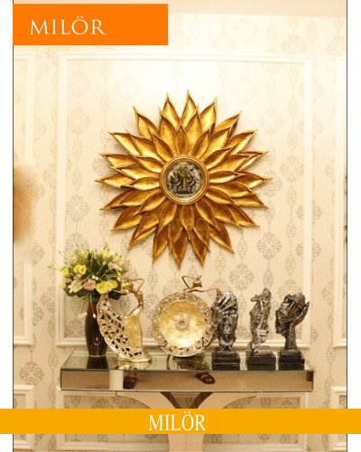 Khung gương tân cổ điển trang trí decor Milor Hemera