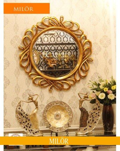 Khung gương tân cổ điển trang trí decor Milor Hermes