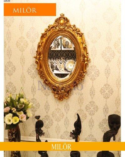 Khung gương tân cổ điển treo tường decor Milor Hypnos