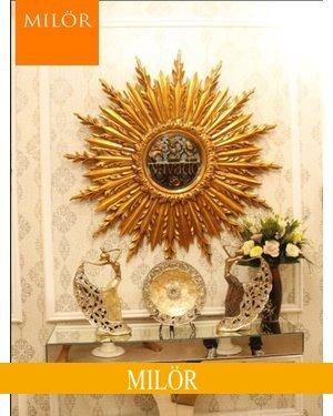 Khung gương tân cổ điển treo tường decor Milor Graces