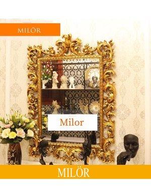 Gương tân cổ điển treo tường decor Milor Nike