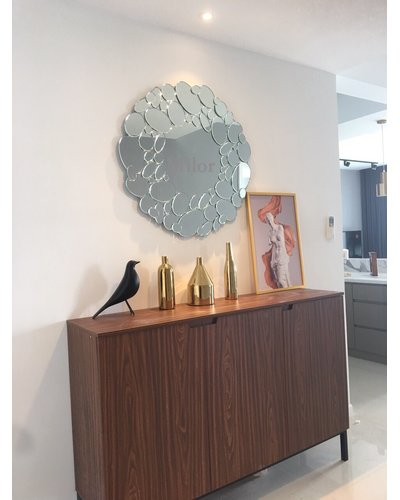 Gương treo phòng khách Queen cao cấp Milor