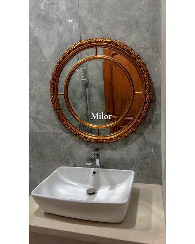 Gương khung phòng tắm tân cổ điển Milor