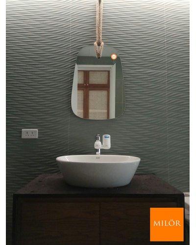 Gương phòng tắm treo tường decor Milor