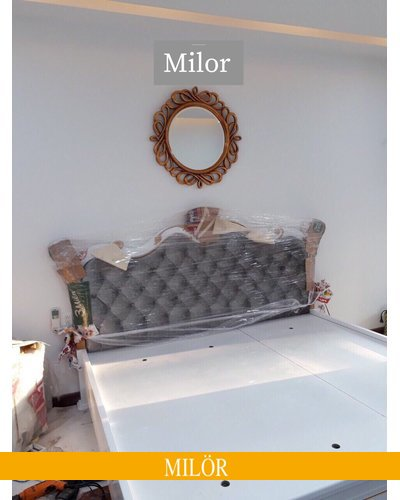 Gương trang trí phòng ngủ tân cổ điển Hermes