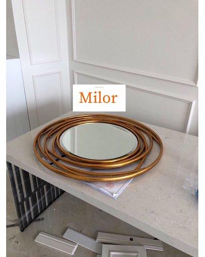 Gương treo tường nghệ thuật trang trí Milor Julia