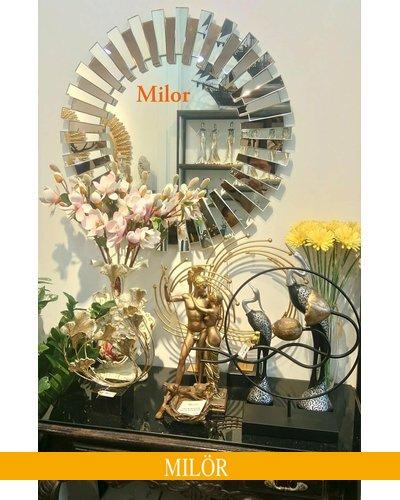Gương treo tường phòng khách trang trí Milor Mystery