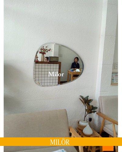 Gương soi treo phòng khách Milor