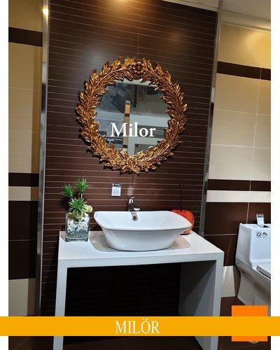 Gương phòng tắm treo tường tân cổ điển