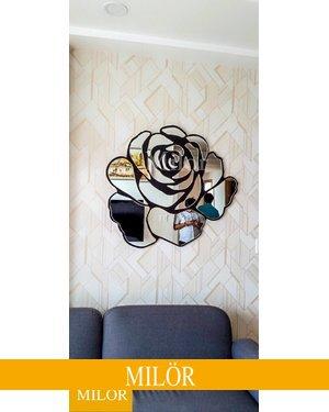 gương treo tường trang trí phòng khách