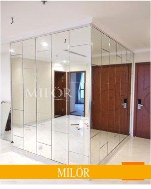 Gương Ốp Tường Phòng Khách Hà Nội