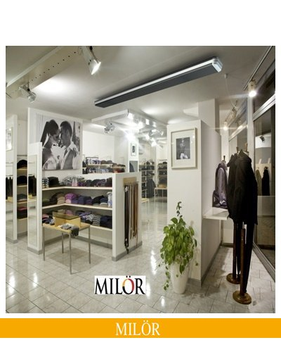 Máy Sưởi Hồng Ngoại cho showroom
