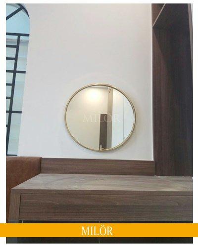 Gương Bàn Trang Điểm Khung Inox 8004
