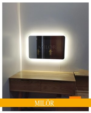 Gương Đèn Led Bàn Trang Điểm Hiện Đại