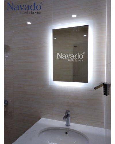 Gương nghệ thuật phòng tắm milor Sài gòn