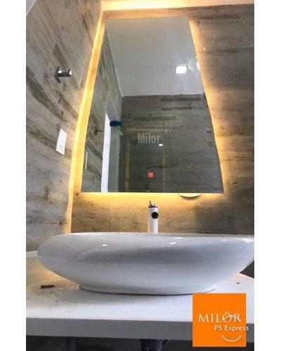 Gương Phòng Tắm Đèn Led Trắng
